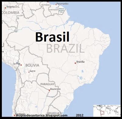 Mapa de Brasil , BING