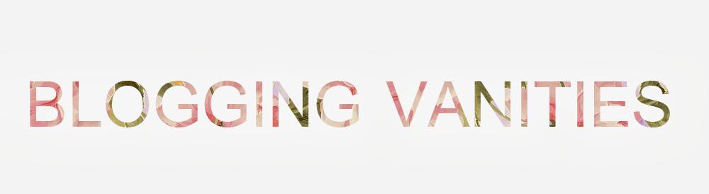 blogging vanities