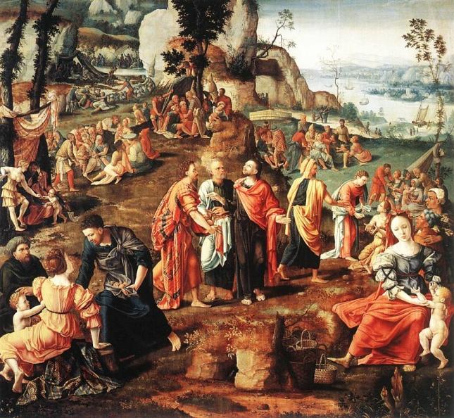 Jesus Feeding 4000