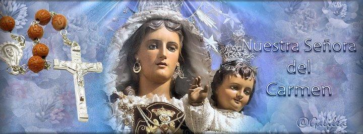 Marin procesión de la Virgen del Carmen. Z+89
