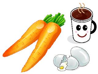 cerita motivasi] Kisah Wortel, Telur, dan Kopi
