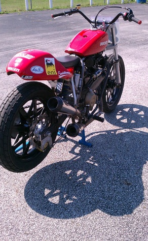 Larryu0027s Ducati 1100 GNC Bike, In Ohio. Thanks To Wilky For The Link.