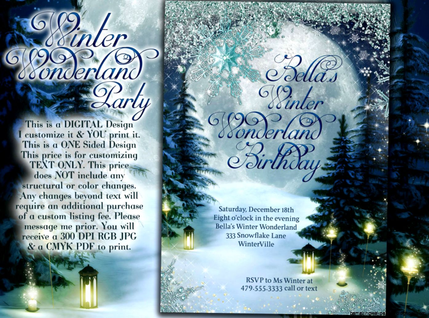 Unique holiday party invite related items  Etsy