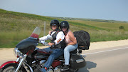 Dan and Jackie on their newly purchase Yamaha