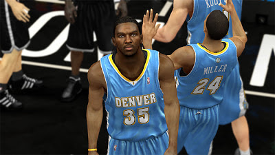 NBA 2K13 Kenneth Faried Dreads Hairstyle Patch
