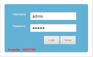 halaman login admin SLIMS