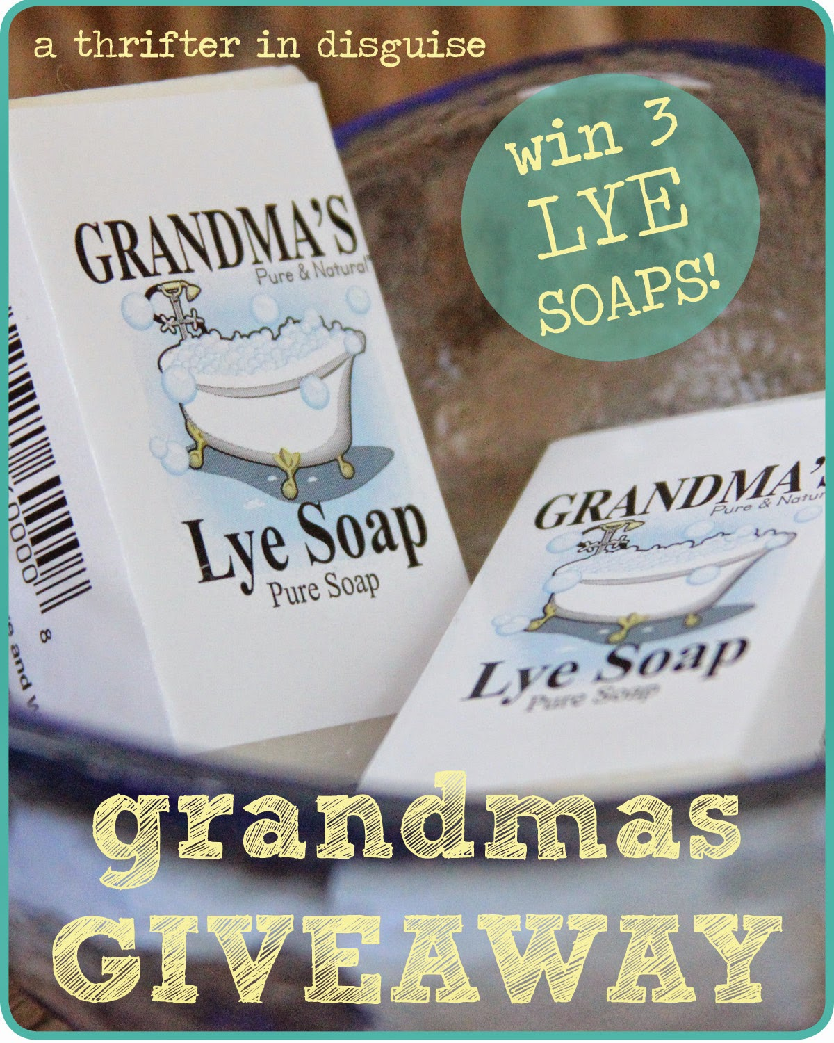All natural lye soap promo code