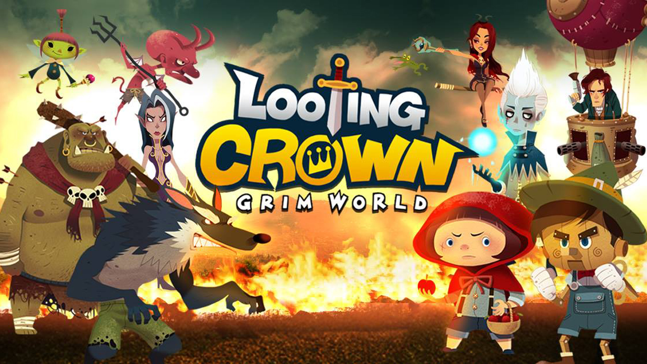 Looting Crown Gameplay IOS / Android