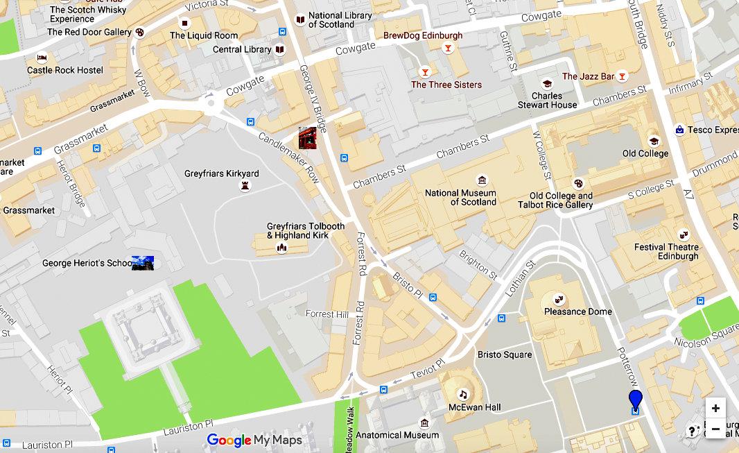 Belle Epoque 1899: DIY Harry Potter Walking Tour of Edinburgh