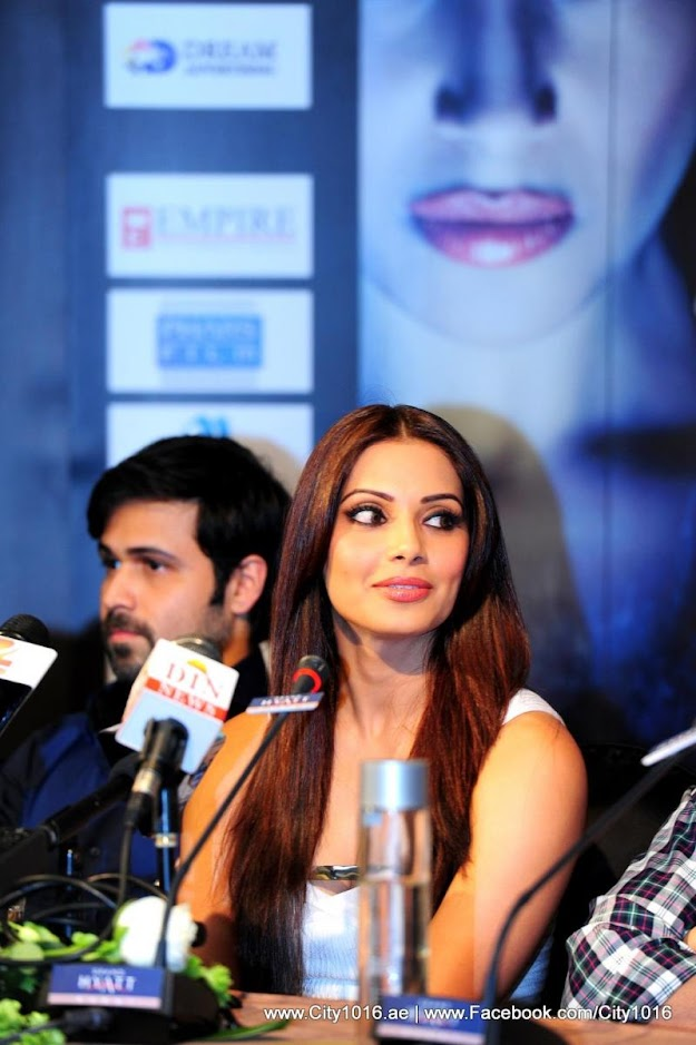 Bipasha Basu at the Raaz3 Press Conference in Dubai