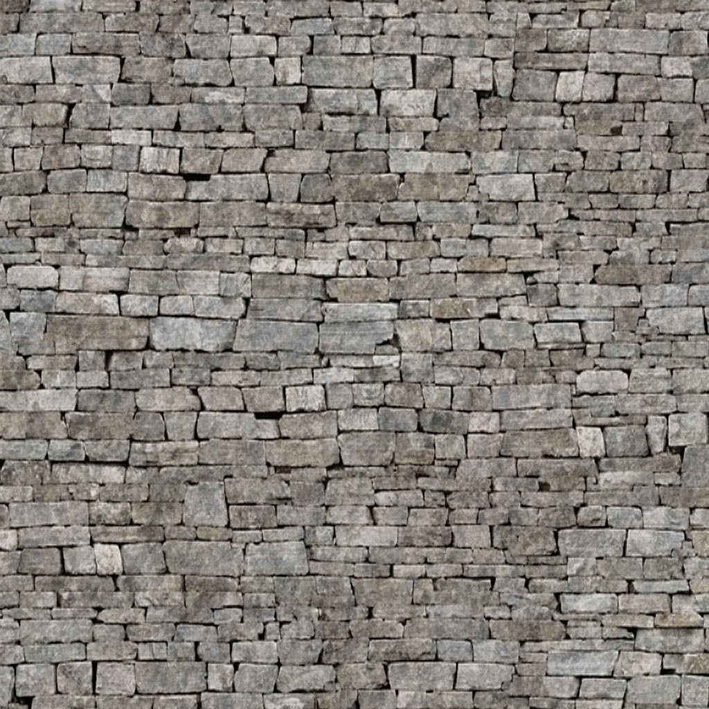 Added seamless stone wall under seamless bricksSeamless Stone Road Texture
