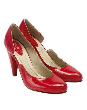 mode fashion et tendance escarpins rouges vernis. Black Bedroom Furniture Sets. Home Design Ideas