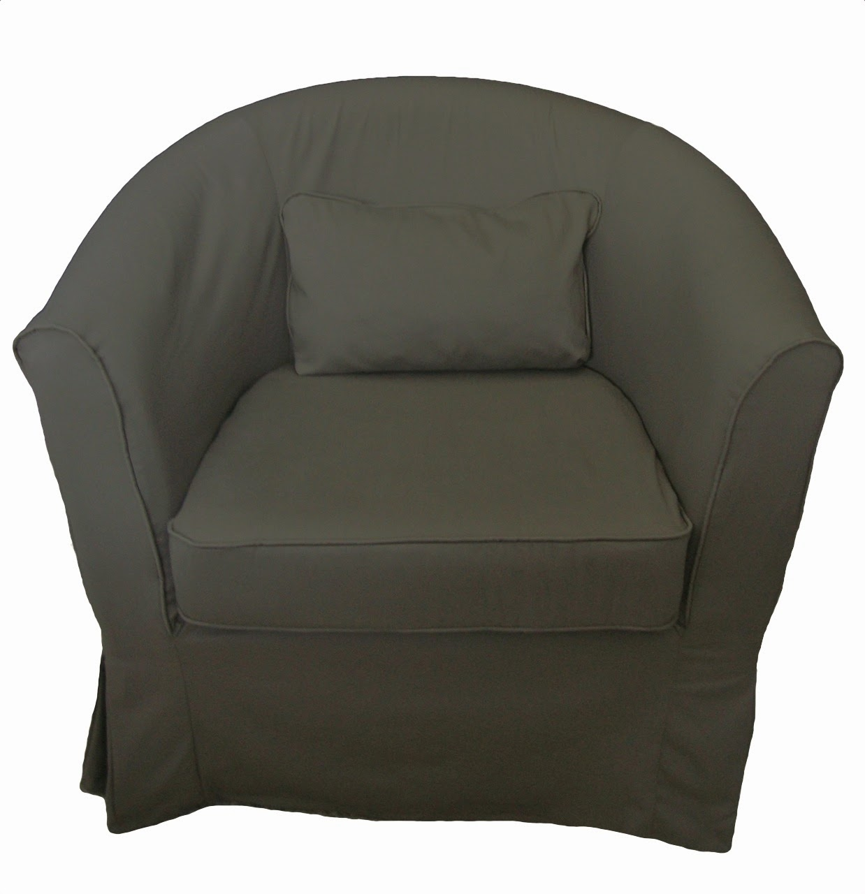 Ikea Schrank Geschirrspüler ~ Slipcovers for the IKEA Ektorp Tullsta chair in Taupe Twill and