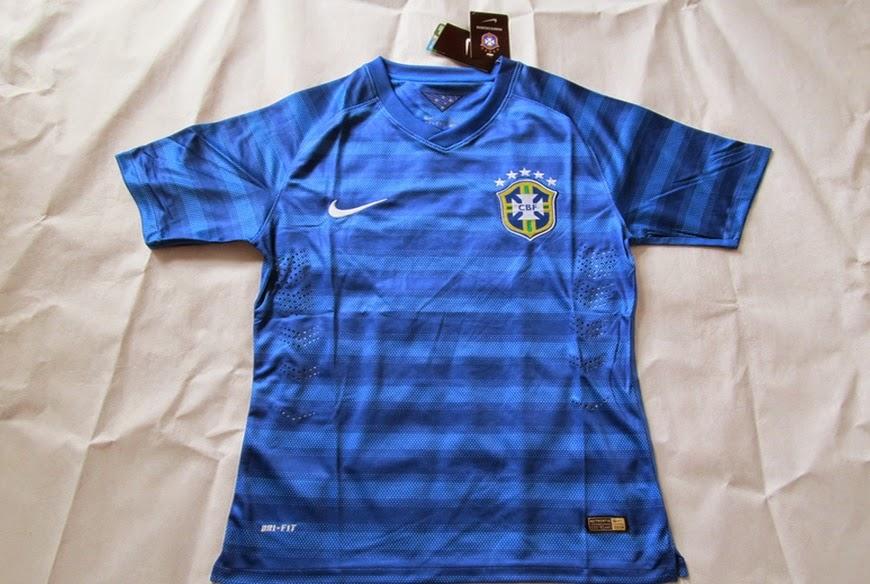 Brazil Away World Cup 2014 - Baju Bola Murah