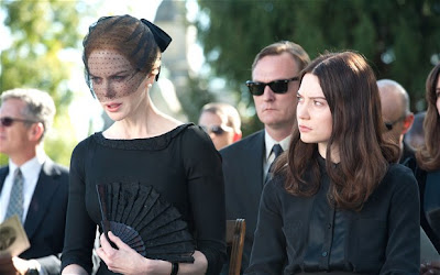 Mia Wasikowska and Nicole Kidman in Stoker