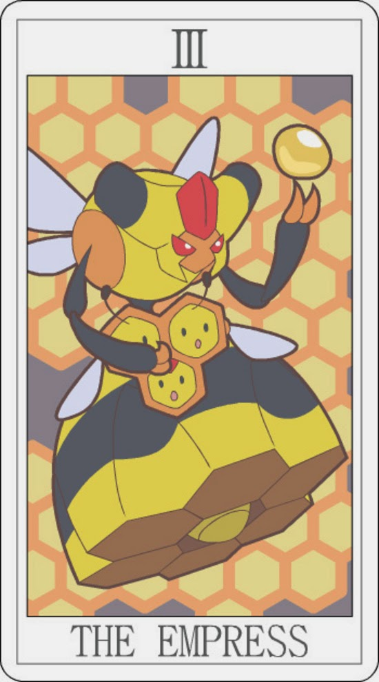 Pokemon Tarot - The Empress