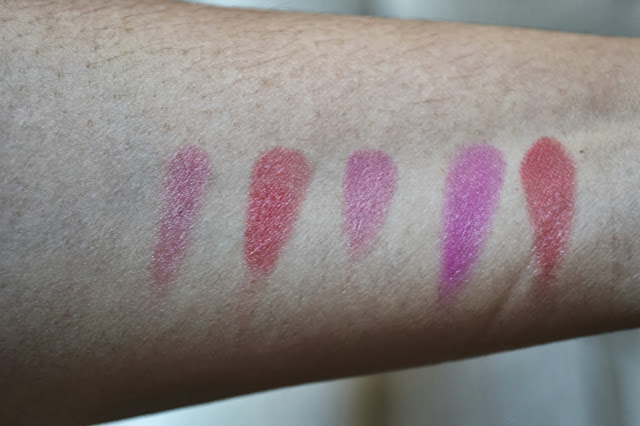 Inglot Freedom System swatches lipstick