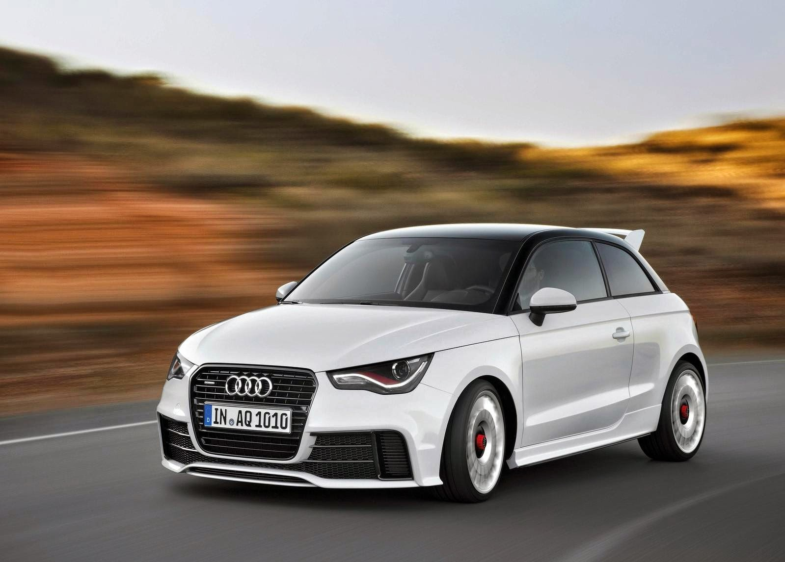 Audi A1 quattro 2013 Widescreen HD Wallpaper