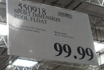 Deal for the Sport Dimension Pool Float at Costco