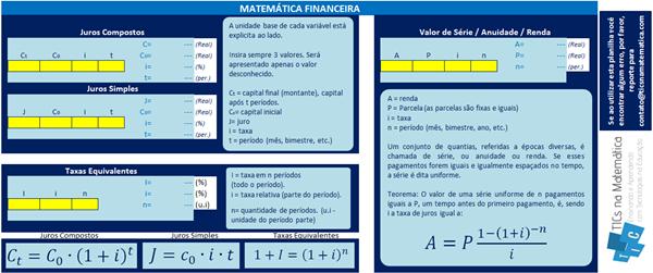 Mais uma planilha no Excel, agora sobre matemática financeira!