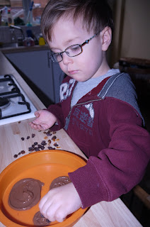 chocolate, cooking with kids