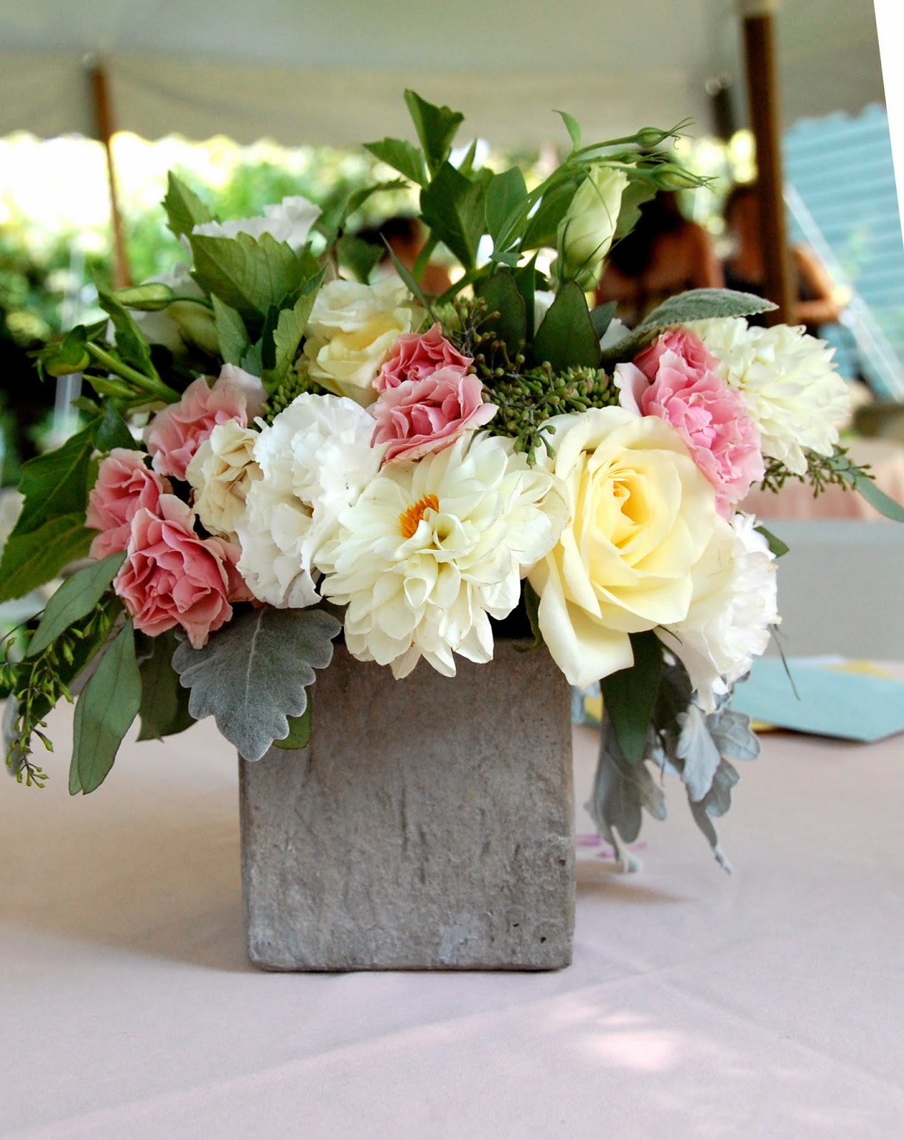 a backyard baby shower for a very special girl Les Fleurs