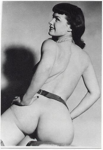 Bettie Page Ass Naked