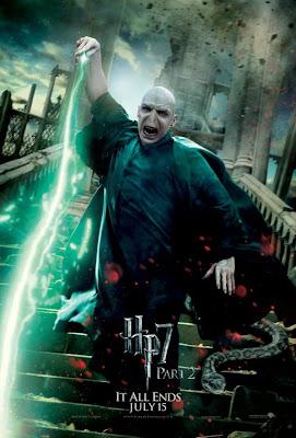 Harry Potter y las reliquias de la muerte. Parte 2. Poster Voldemort