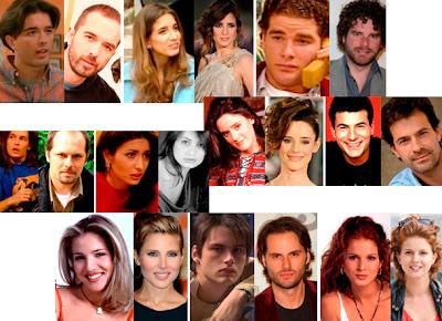 Íñigo, Silvia, David, Álex, Carlota, Nico, Raquel, Alberto, Miriam