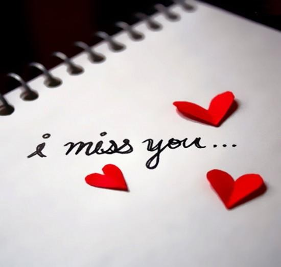 THE WORLD OF LOVE: I MISS YOU...