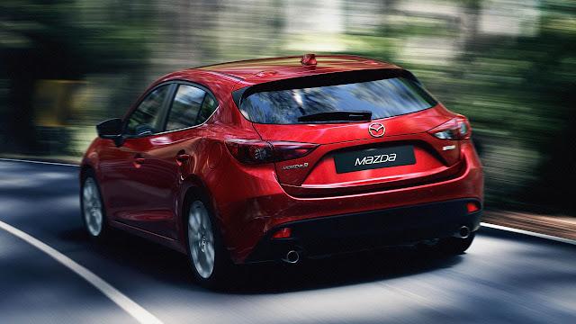 Mazda3 Hatchback rear