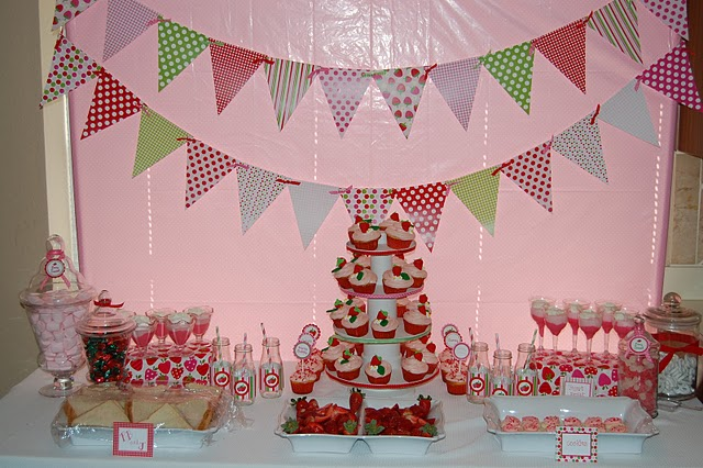 strawberry shortcake baby shower decorations best baby decoration