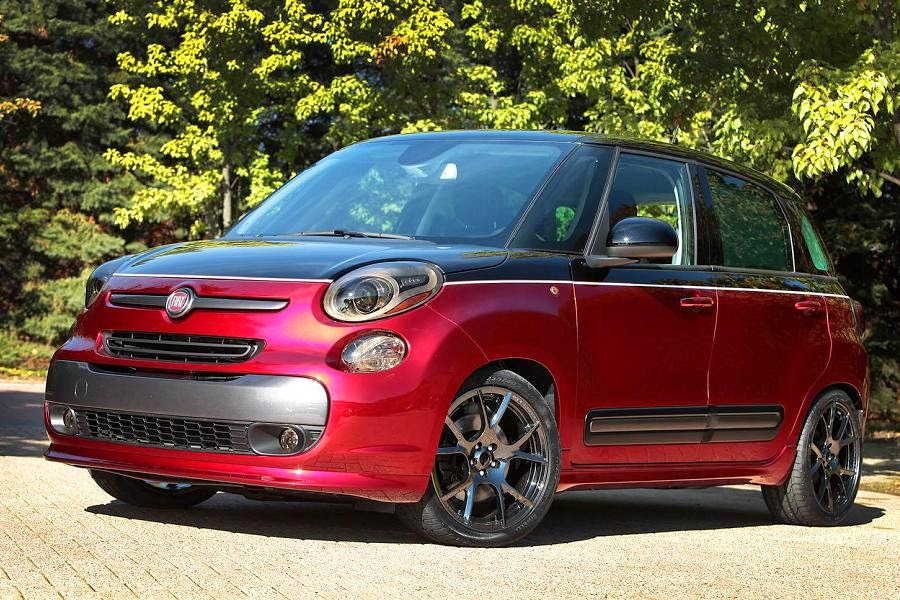 Fiat 500L Custom Concept (2015 North American Spec) Front Side