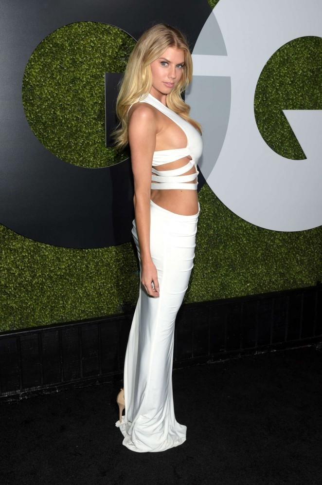 Charlotte McKinney - Sexiest Celebrities at the GQ Men of the Year Party 2015 in LA