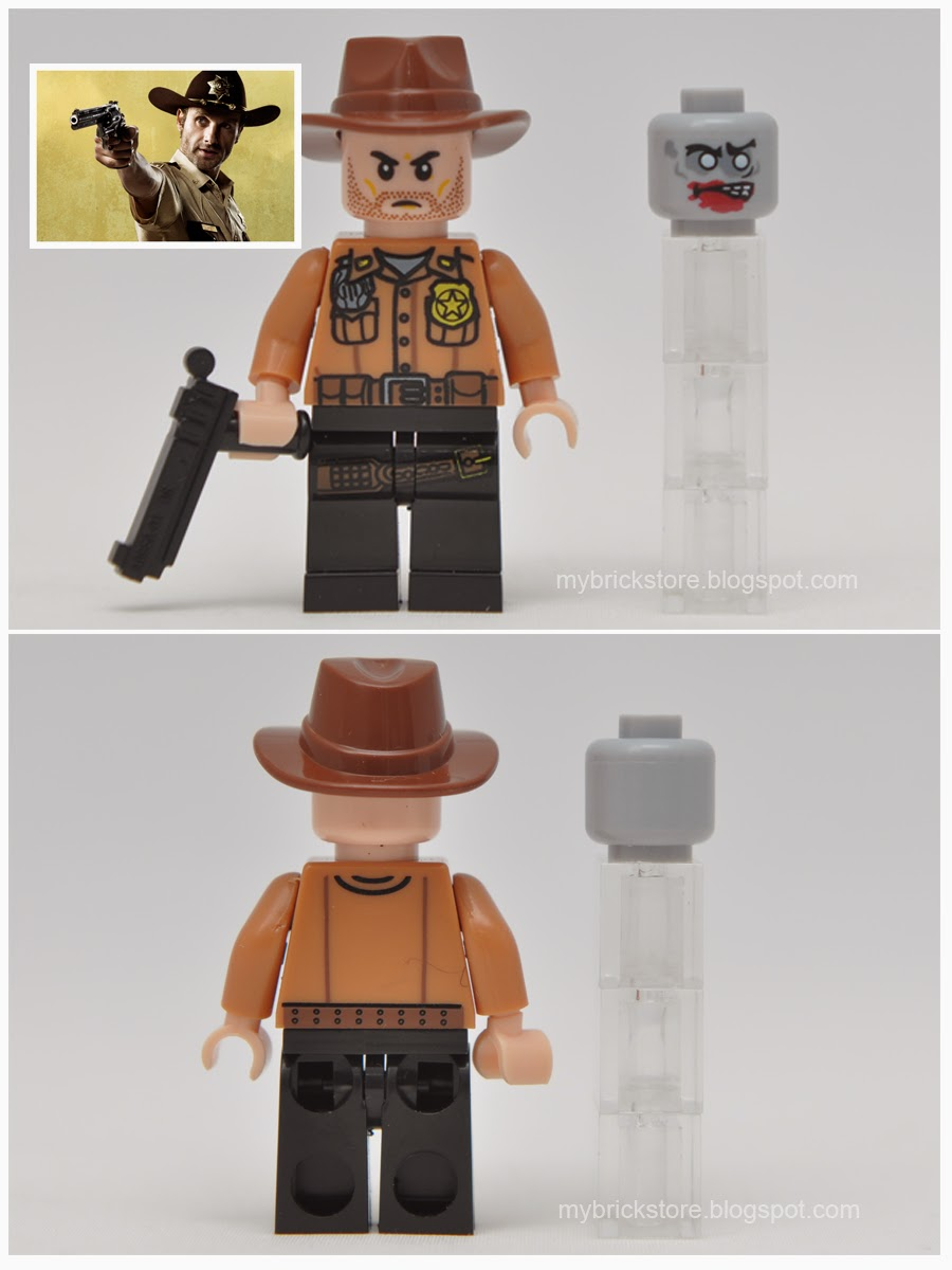 Walking dead lego daryl the walking - 2 Rick