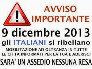 9 Dicembre - L'Italia si Ferma