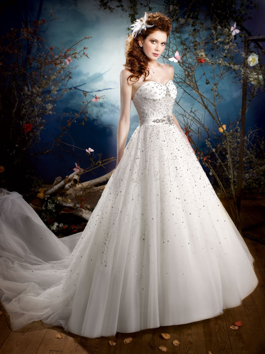 Kelly Star 2013 Spring Bridal Wedding Dresses
