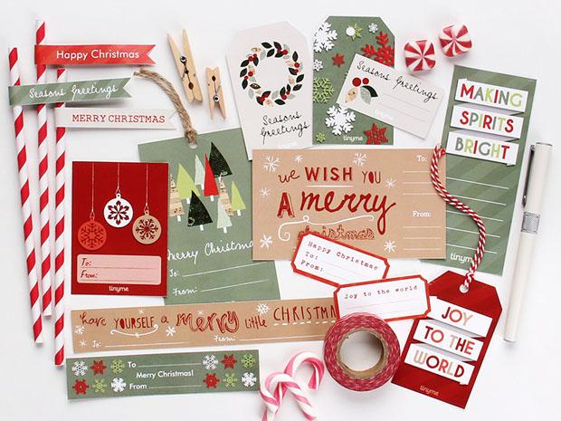 imprimibles gratis, free printables, Christmas, tags, etiquetas, navidad