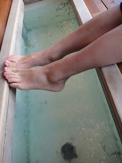 fish pedicure tub