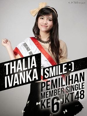 Thalia Ivanka E, Member JKT48 Yang Lucu Dan Periang