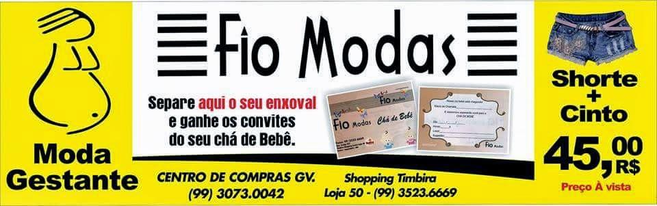 FIO MODAS COM GRANDES PROMOÇÕES, VENHA CONFERIR!