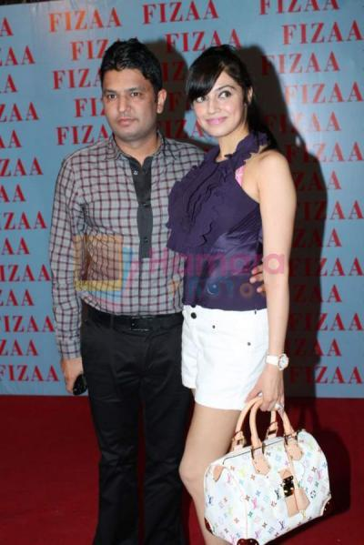 Divya Khosla in white shorts, purle top  - Divya Khosla Kumar at Zarine Khan's Fizaa store launch