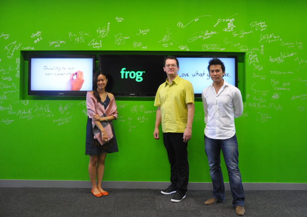 Industrial design in victoria australia frog design for Frog studio