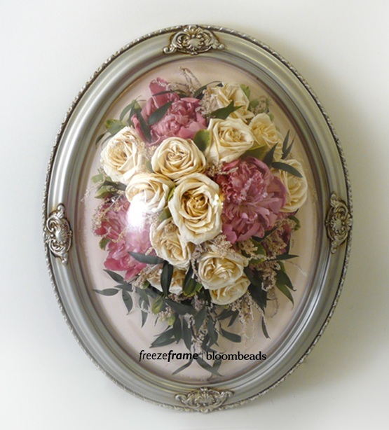 Frame Your Wedding Flowers: Preserved Wedding Bouquet