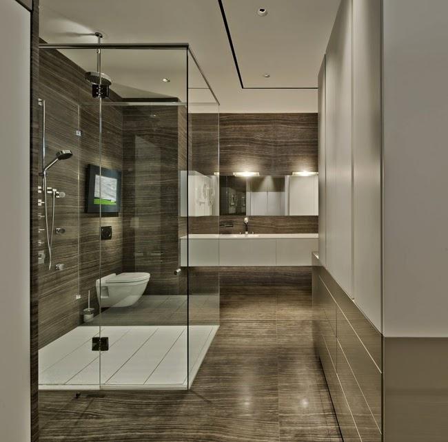 Alternative To Bathroom Tiles Glass Panels Wood Optic Glass Shower Enclosure