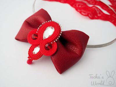 Audrey Hepburn, bow, bow tie, choker, necklace, vegan, soutache, Swarovski, beaded, jewellery, handcrafted, To-Bow,