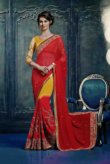 Best Rajasthani Sarees at Moksha Fashions