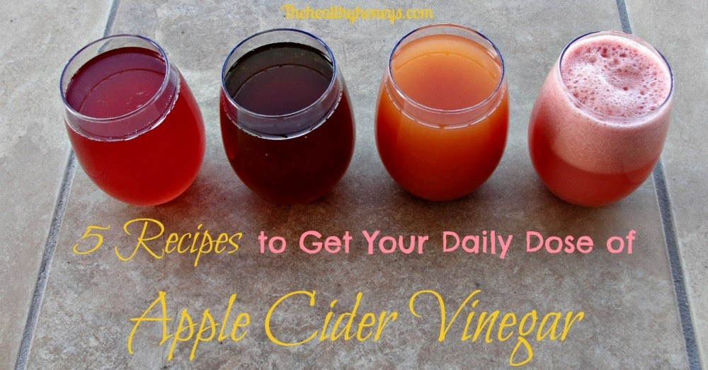 5 Recipes to Get Your Daily Dose of Apple Cider Vinegar