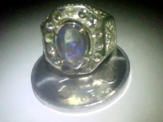 Batu Cincin Kalimaya Afrika Kristal