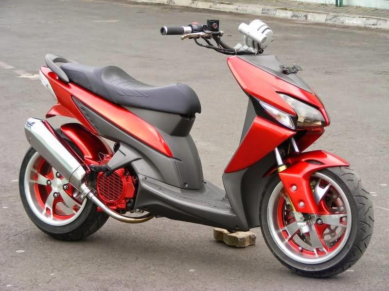 Modifikasi Honda Vario Sederhana
